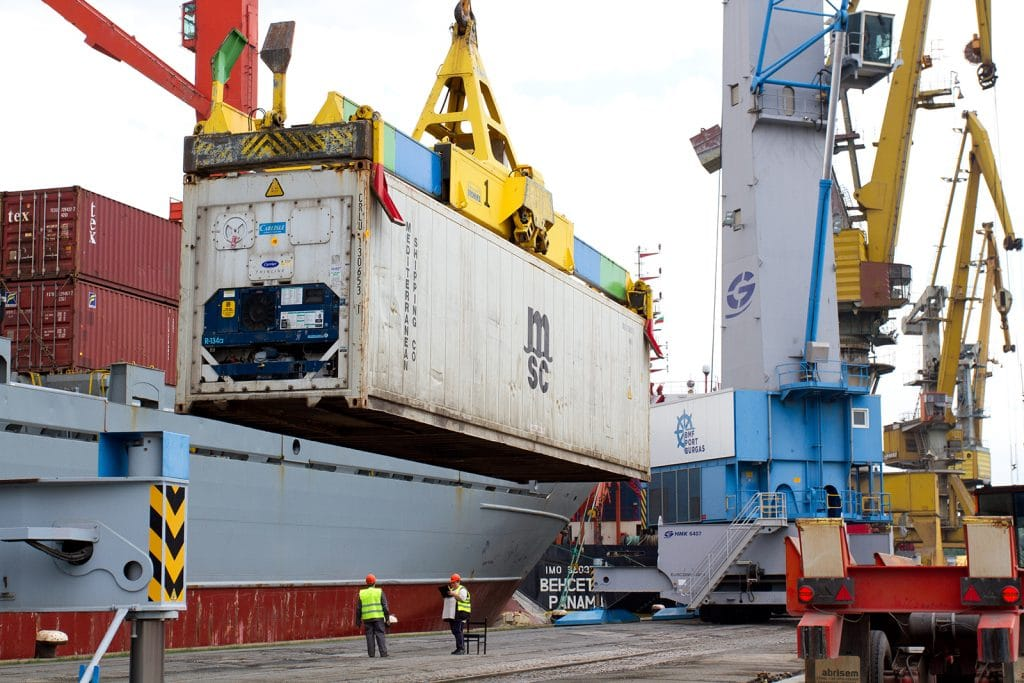 Project Cargo in Port of Bourgas