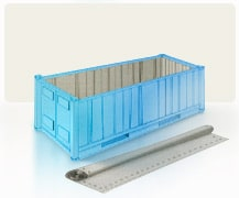 Size of sea containers 2