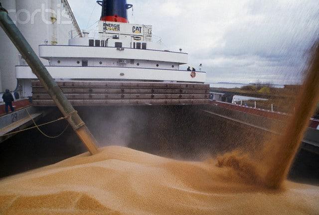 международен транспорт на насипни товари